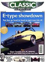 bericht in der zeitschrift 39 classic sports car 39 ber. Black Bedroom Furniture Sets. Home Design Ideas